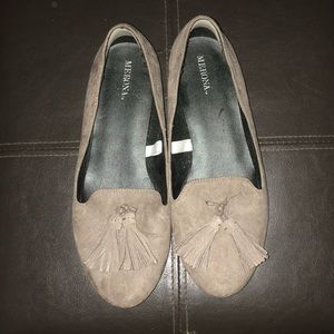 Taupe Loafers with Tassel 🍂 AUTUMN SHOE SALE 🍂